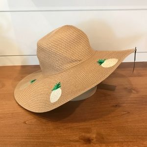 [Marcus Adler] Pineapple Floppy Beach Hat
